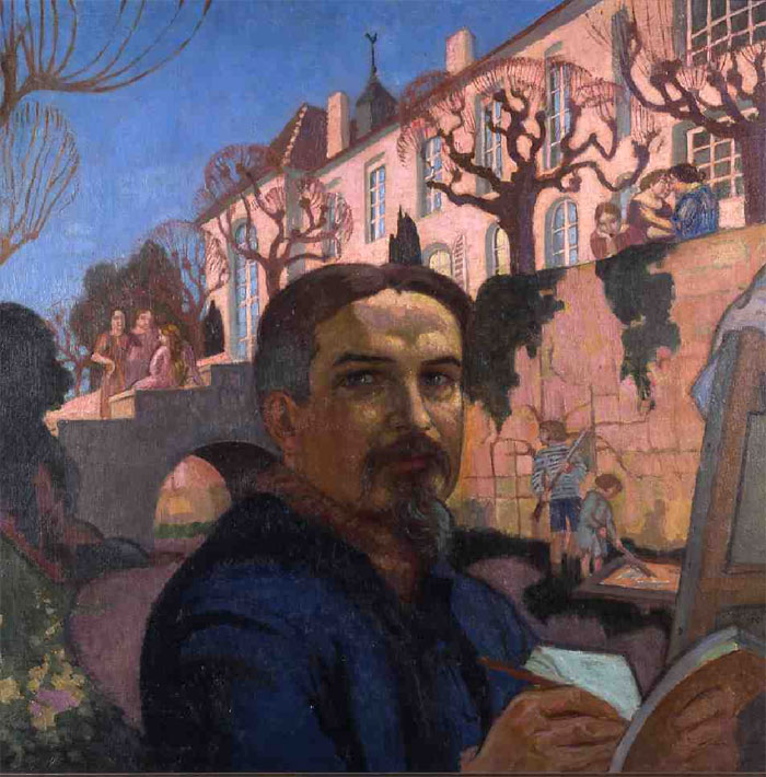 Mus 233 E Maurice Denis Quelques Oeuvres